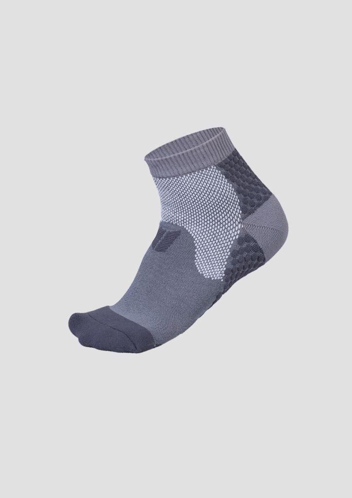 Code Everyday Coolmax Ankle Sock Grey L