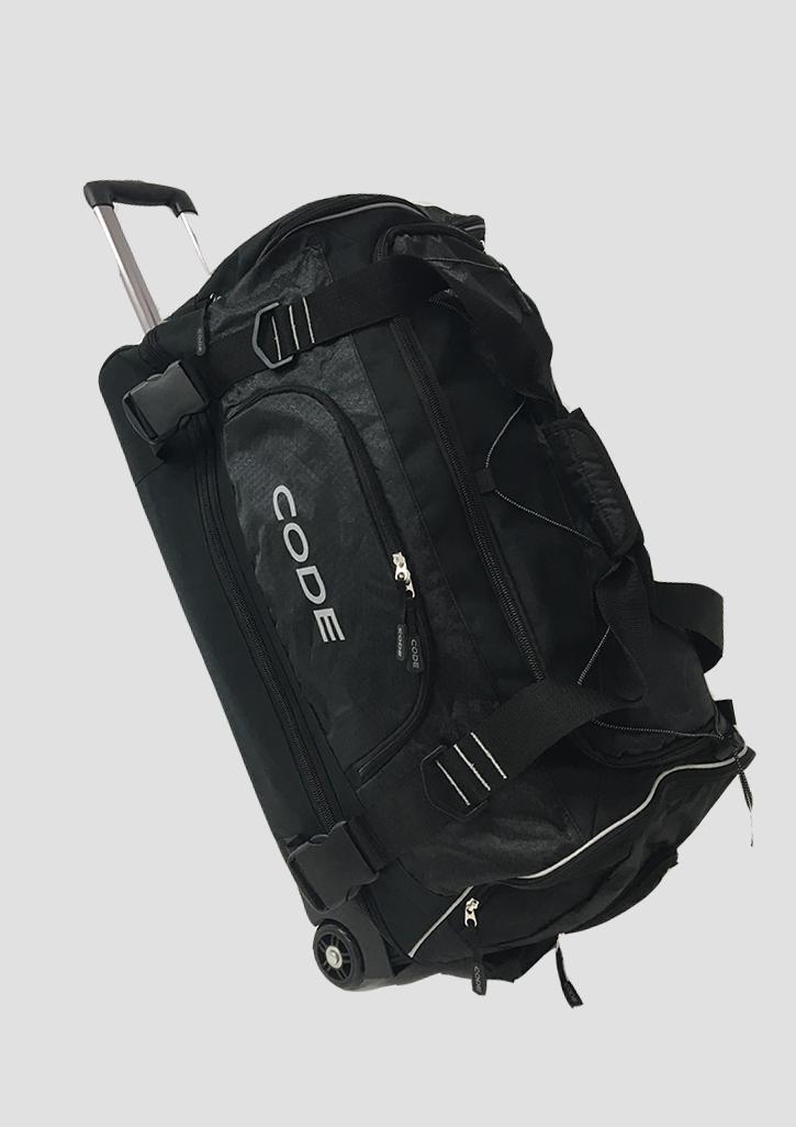 Code Travel Bag Black